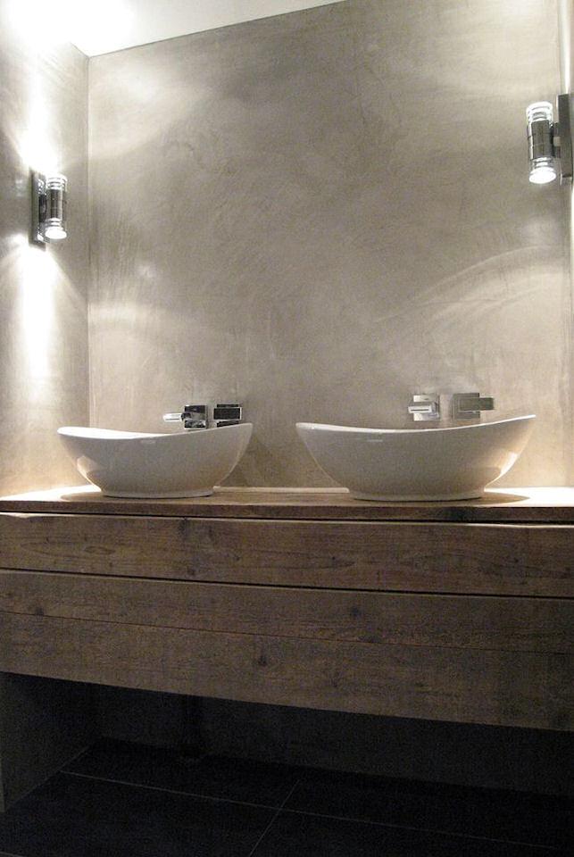 Stunning betonlook badkamer zelf doen images house for Betonstuc zelf aanbrengen